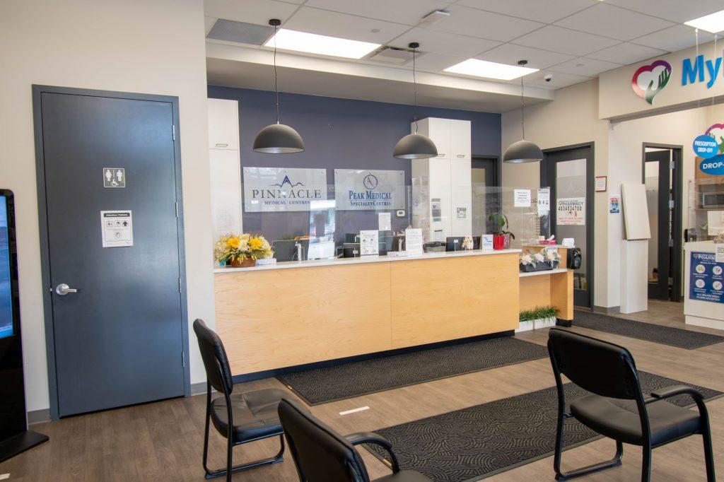 peak medical group montgomery office calgary